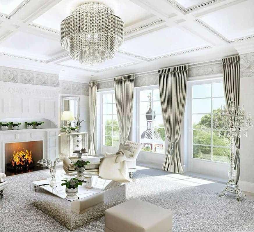 Пошив классических штор в Москве